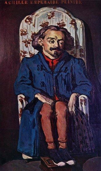 Paul Cezanne - Portrait of the Painter, Achille Emperaire