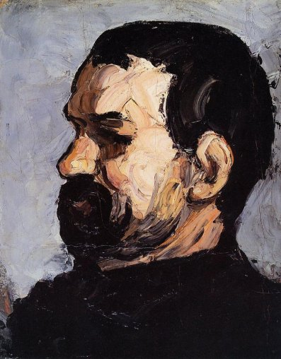 Paul Cezanne - Uncle Dominique in Profile