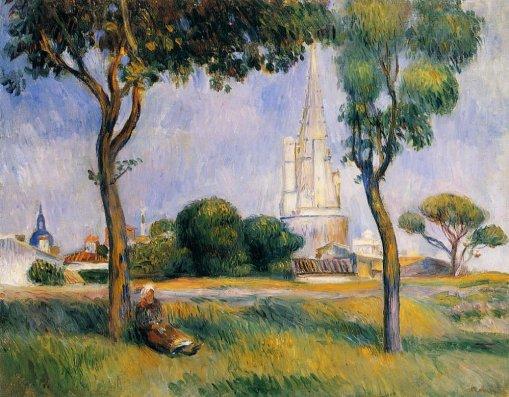 Pierre-Auguste Renoir - La Poudrerie de la Rochelle