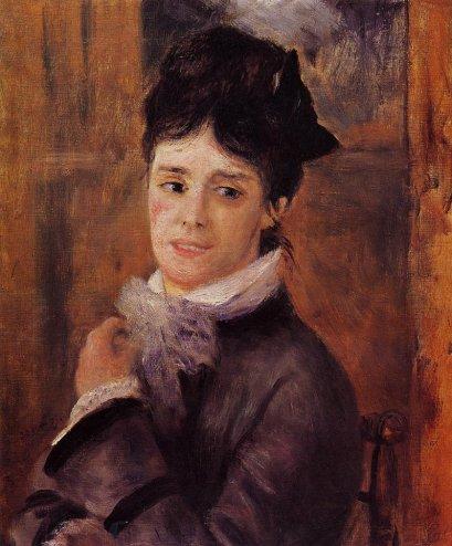 Pierre-Auguste Renoir - Madame Claude Monet