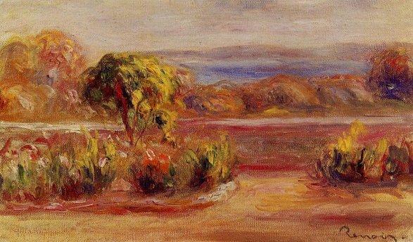 Pierre-Auguste Renoir - Midday Landscape
