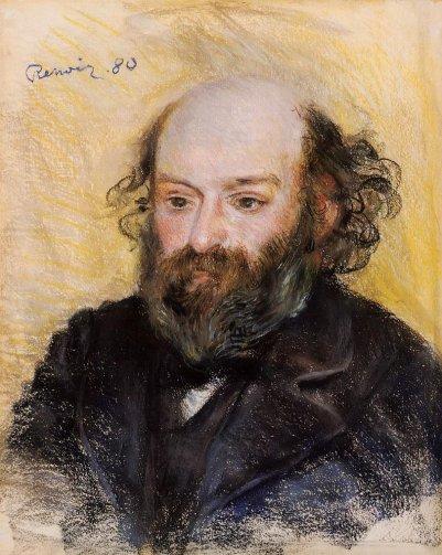 Pierre-Auguste Renoir - Paul Cezanne
