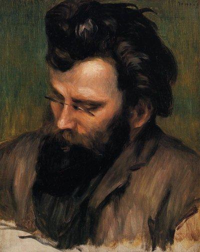 Pierre-Auguste Renoir - Portrait of Charles Terrasse