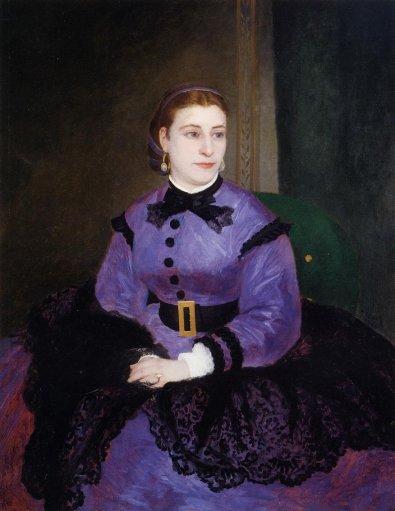 Pierre-Auguste Renoir - Portrait of Mademoiselle Sicotg