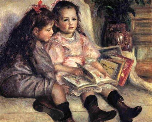 Pierre-Auguste Renoir - Portraits of Two Children