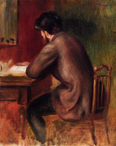 Pierre-Auguste Renoir - Posthumous Portrait of Frederic Bazille