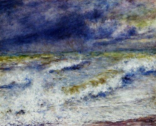 Pierre-Auguste Renoir - Seascape