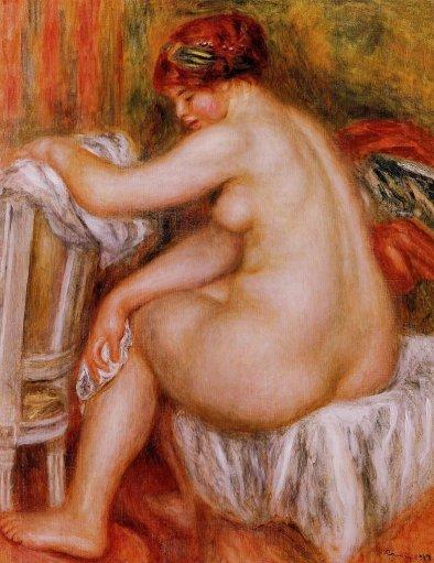 Pierre-Auguste Renoir - Seated Nude