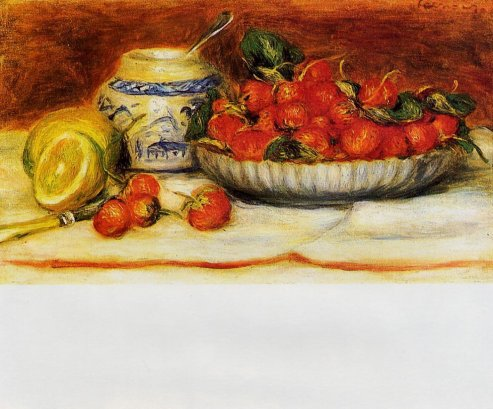 Pierre-Auguste Renoir - Strawberries 02