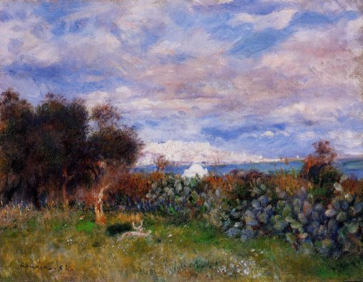 Pierre-Auguste Renoir - The Bay of Algiers