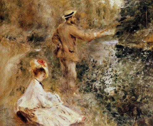 Pierre-Auguste Renoir - The Fisherman