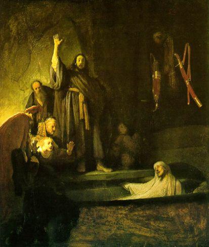 Rembrandt van Rijn - The Raising of Lazarus