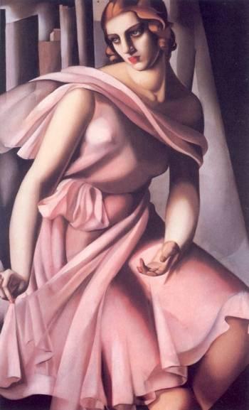 Tamara de Lempicka - Portrait of Romana de La Salle, 1928