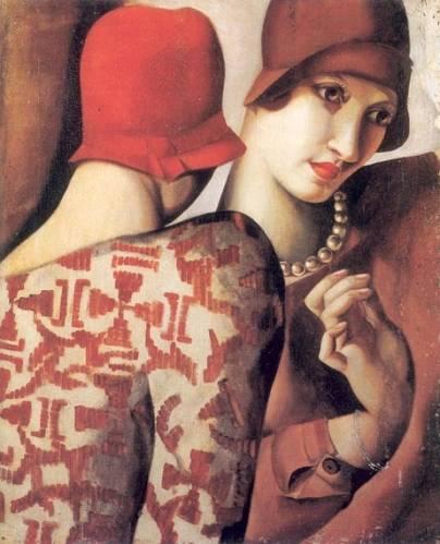 Tamara de Lempicka - Sharing Secrets, 1928