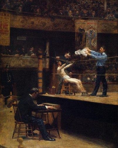 Thomas Eakins - Between Rounds
