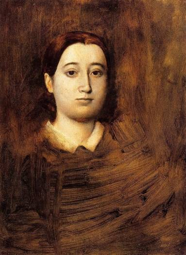 Edgar Degas - Portrait of Therese De Gas, The Artist Sister 2