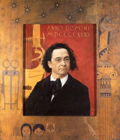 Gustav Klimt - Joseph Pembauer 1890