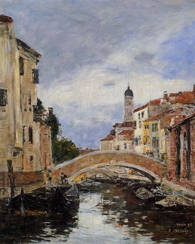 Small Canal in Venice 1
