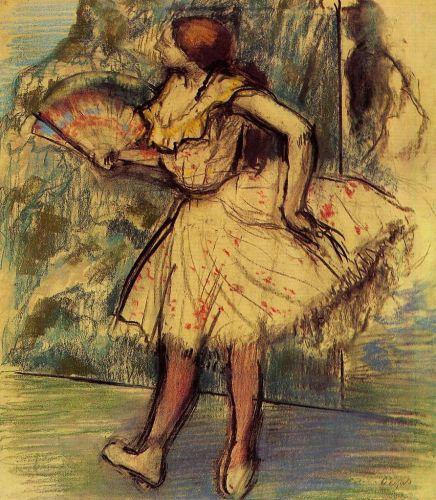 Dancer with a Fan 2