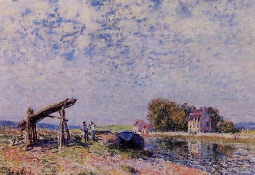 The Loing at Saint-Mammes