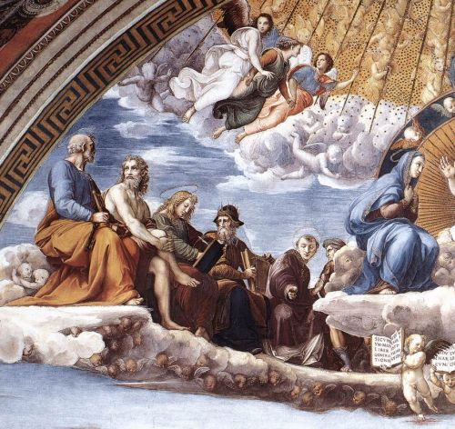 Disputation of the Holy Sacrament (Detail) 9