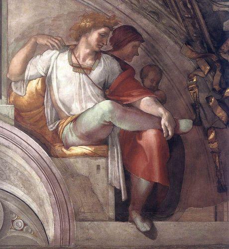 Ancestors of Christ - Eleazar - Matthan (Detail) 3