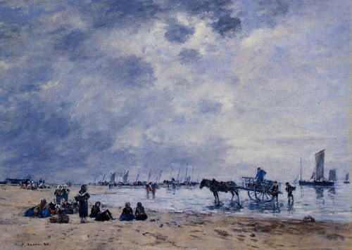 Berck, the Arrival of the Fishing Boats