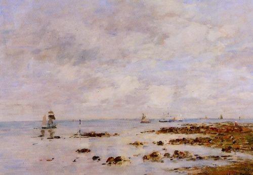 Low Tide at Saint-Vaast-la-Hougue
