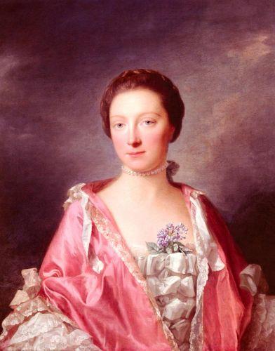 Portrait Of Elizabeth Gunning, Duchess Of Argyll