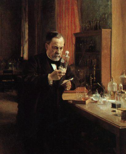 Portrait of Louis Pasteur