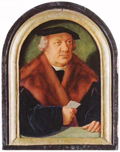 Portrait of Scholar Petrus von Clapis