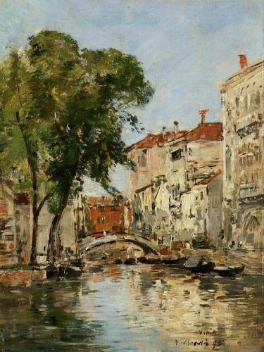 Small Canal in Venice 2