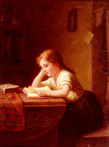 The Reading Girl 2