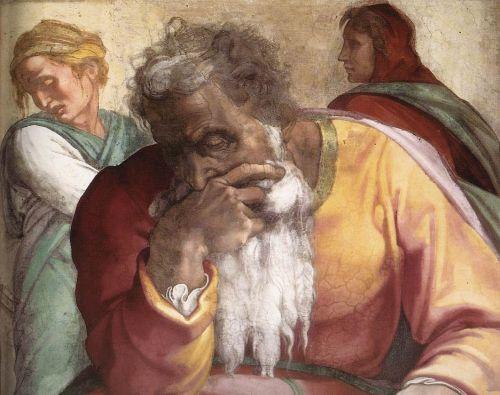 Prophets - Jeremiah (Detail) 1