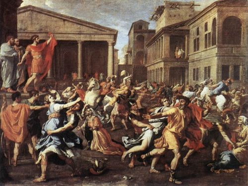 The Rape of the Sabine Women 2