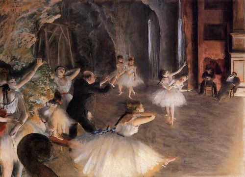 The Rehearsal of the Ballet on Stage 2