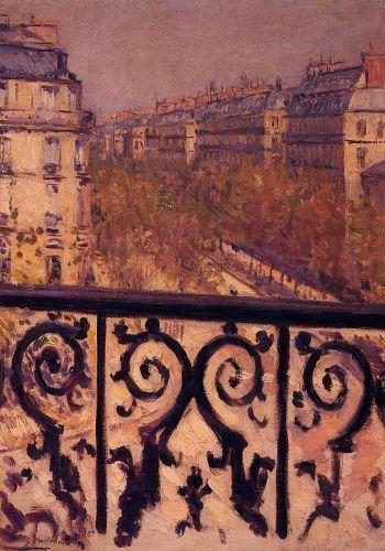 A Balcony in Paris