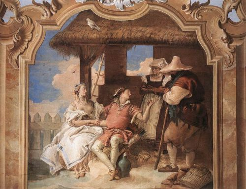 Angelica and Medoro with the Shepherds