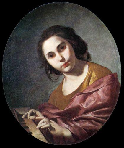 Clavichord Player