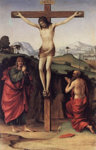 Crucifixion with Sts John and Jerome