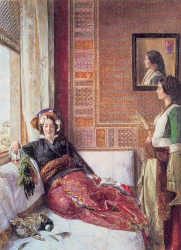 Harem Life in Constantinople
