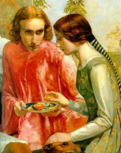 Lorenzo and Isabella (Detail)
