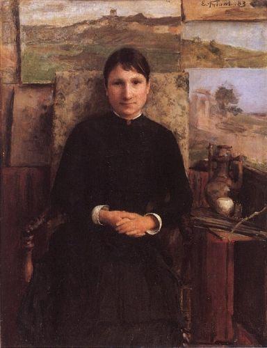 Portrait of Madame Petitjean