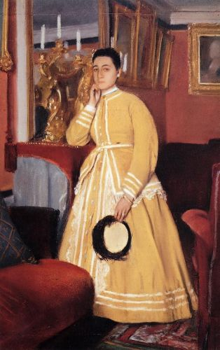 Portrait of Therese De Gas, The Artist Sister 1