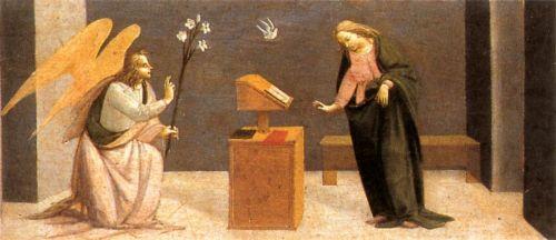 Predella - Annunciation