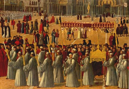 Procession in Piazza S. Marco (detail)