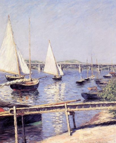 Sailboats in Argenteuil 1