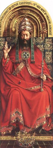 The Ghent Altarpiece - God Almighty