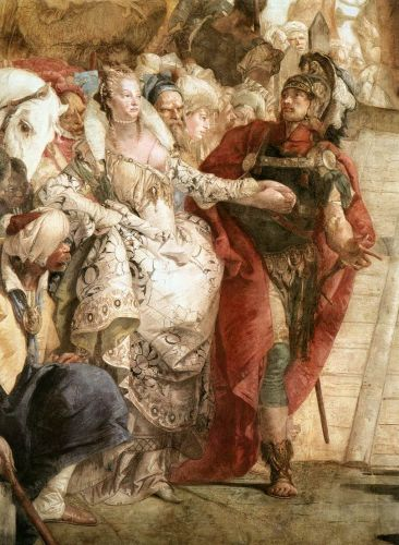 The Meeting of Anthony and Cleopatra (detail)
