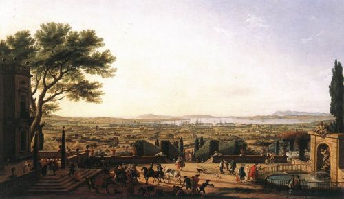 The Town and Harbour of Toulon